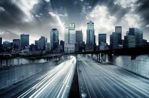Futuristic Cityscape from DepositPhoto